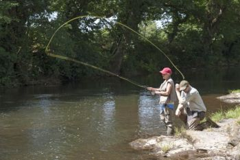 Intro to Fly-Fishing is one of several outdoors-related workshops being offered at the Pisgah Center for Wildlife Education throughout July.