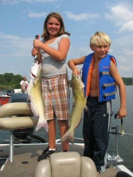 High Rock Lake is full of channel catfish weighing 3 to 4 pounds, with a few bigger specimens showing up on occasion.