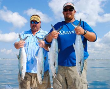 Trolling with bucktails or live-baiting with menhaden will help you fill your Lowcountry fish box with Spanish mackerel this month.
