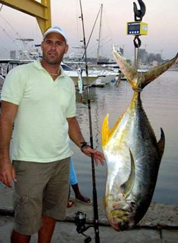 The current world record jack crevalle is a 66-pounder caught near Angola, Africa.