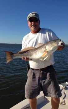 Upper-slot and even over-slot redfish will be a distinct possibility this month in inshore waters around Charleston and John's Island.