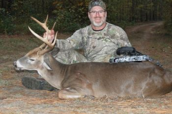 The author crossed off every item on his checklist and came away with this nice South Carolina archery buck.