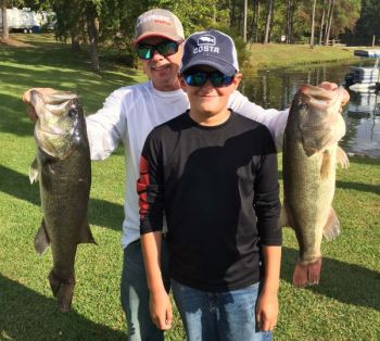 Bass pro Dearal Rodgers said he is ready in September to fish topwater baits in shallow water, as well as probing deep water for Lake Wateree bass.