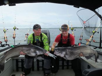 Plenty of big catfish swim in South Carolina's Santee Cooper lakes, and fall is prime time to target them.