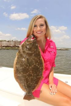 Look for flounder in the deepest holes in a creek or waterway and drop a live mud minnow or mullet minnow on its nose.