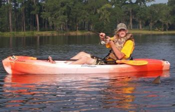 Kayak-bound fishermen have a great opportunity in October to do battle with a number of inshore saltwater species.