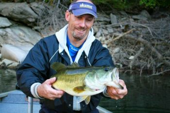 Cooling water temperatures will push Lake Jocassee's bass toward shallow water and the shoreline in October and November.