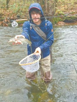 Nymphs are a trout angler's winter dream flies in the Carolinas.