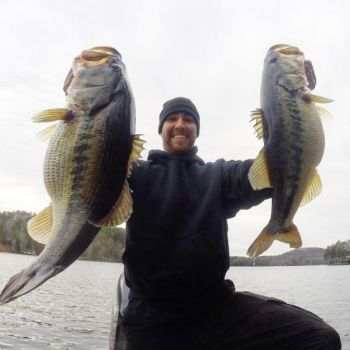 Guide Austin Neery loves fishing on the larger reservoirs in the high country of the Carolinas and Georgia, but he believes that smaller lakes have even better fishing because the fishing pressure is at a much-lower level.