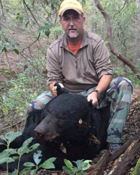 Jeff Kay of Travelers Rest killed this big bear on Oct. 17 in Greenville County, SC.