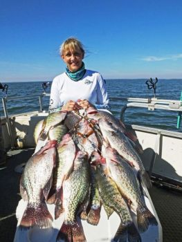 Lake Marion crappie stay hot in cooler December water.