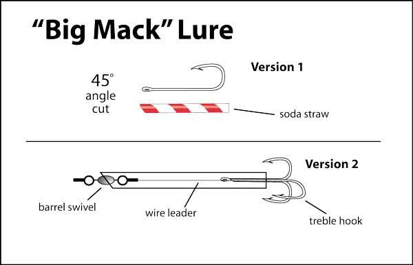 King mackerel trolling rigs