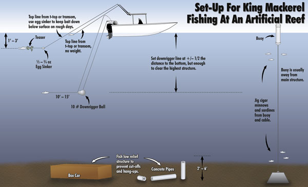 how to catch mackerel from a boat