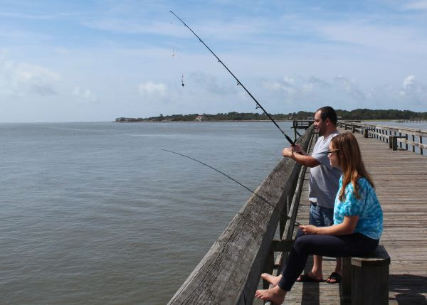 Fishing Piers Especially The Two Operated By State Park System Offer Anglers