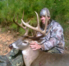An invitation to his boss's hunt club resulted in Anthony Nance taking this great Anson County buck.