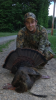 John Money of Trap Hill killed this bearded hen, which is the new state record, on April 30.