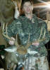 Jeremiah Wood, a former contestant on the hit show Survivor, killed this Surry County trophy on Dec. 3.