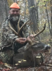 Tim Goodman killed this deer on an SAP draw hunt in Montgomery County months after learning about the LandTrust for Central North Carolina.